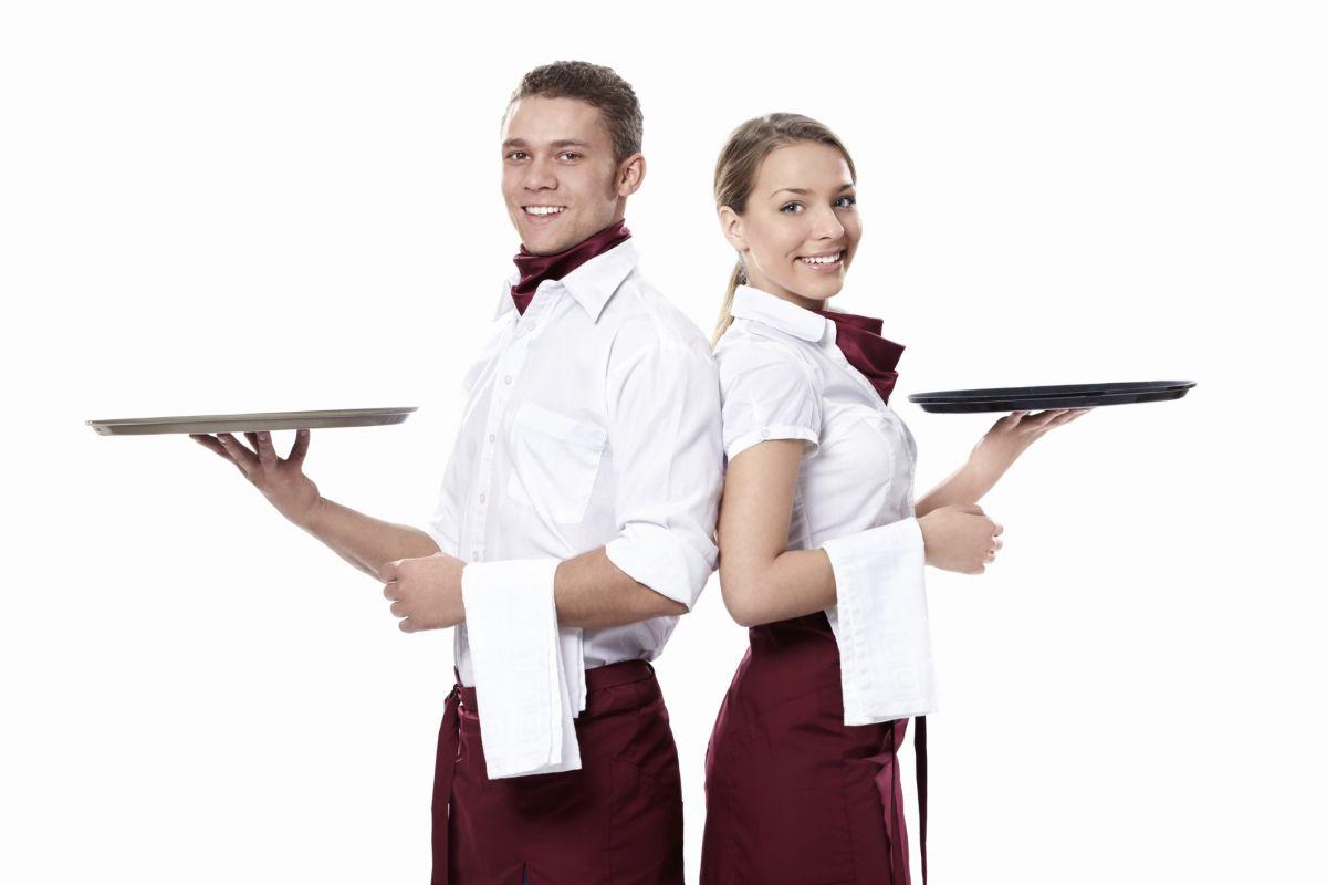 Znalezione obrazy dla zapytania kelner